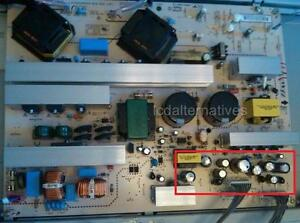 Repair-Kit-LG-47LC7DF-LCD-TV-Capacitors