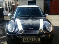 Mini cooper 1.6 petrol (swap this weekend for a 4x4 or larger car )