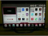 """LG 42"""" SMART 3D SLIM LED TV model:42LA690V"""