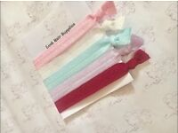 Hair Ribbons Elastic 5 Pack