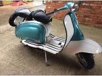 Lambretta scooter li150 s2 1965 uk Reg Full mot Li 150