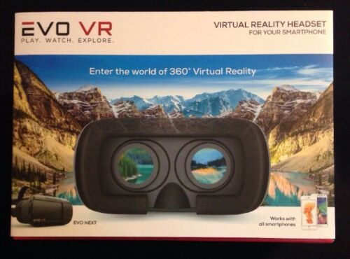 EVO NEXT VR Virtual Reality Headset Smartphone Android And iPhone EVO VR