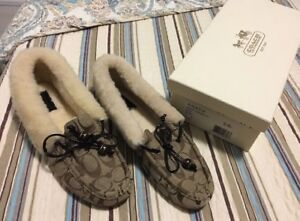 Authentic Coach Loafers Size 11, fits size 10 too