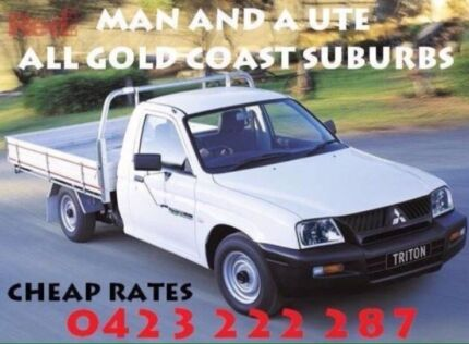 Cheapest Man and a ute • all suburbs - Deliveries & Rubbish