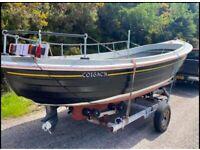 Fishing boat dell quay fisher