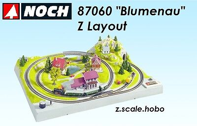 NOCH 87060 Z Scale Train Layout Form *NEW *SHIPS FROM USA* Updated English Plan