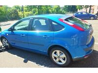 Beautiful Pearl Blue Ford Focus 1.6 Diesel ! I can swap on the other left hand drive car!