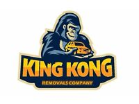 King Kong Removals - Starting at £10, Cheap Home moving, VAN & MAN, Moving service, Hire Low price