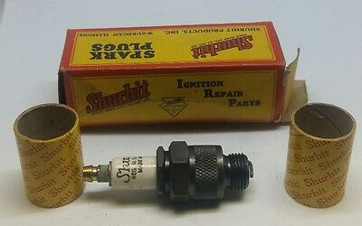 Vintage NOS New Shurhit SP-7 Spark Plug With Original Box Vtg