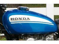 1969-74 HONDA CL450K2-K6 SCRAMBLER 450 EXHAUST PIPE HOLDER 18396-294-000 B
