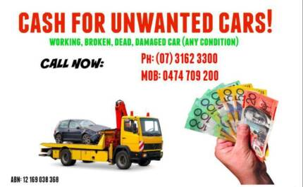 Wanted: TOP CASH FOR TRUCKS , UTES , VANS , CARS