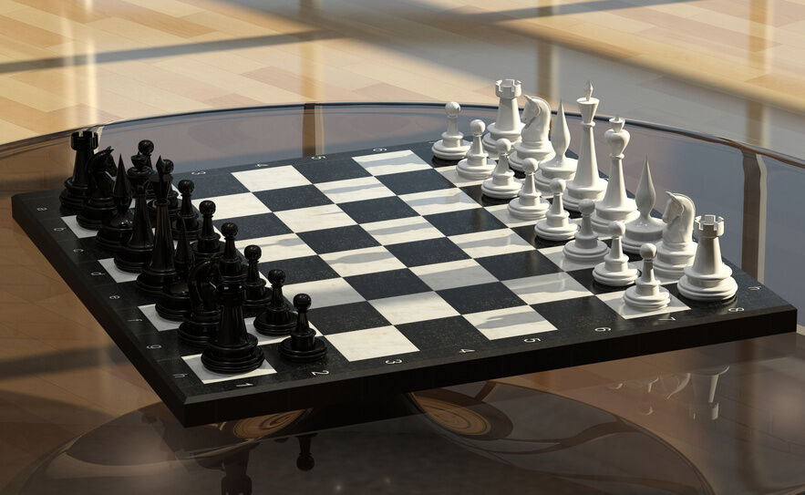 How To Make A Chess Table Ebay