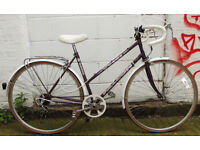 Vintage Ladies racing bike FALCON frame size 20inch - Serviced warranty - Welcome for test ride