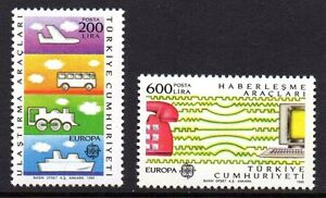Turkey - 1988 Europa Cept Mi. 2808-09 MNH - Enschede, Nederland - Turkey - 1988 Europa Cept Mi. 2808-09 MNH Our lots start at just €0,25 Combine up to 10 lots for single postage rate! Used singles/sets show an example of the cancellation; we supply these from stock, so the actual cancellation may - Enschede, Nederland
