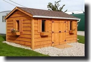 Sheds, Garden Sheds - Solid Wood - European Style Windsor Region Ontario image 2