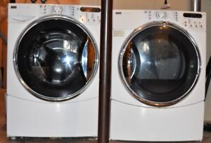 Kenmore Elite HE5T Washer & HE5 Dryer (Front Loading, Like New)