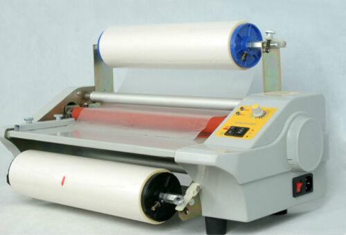 FM360J Four Rollers Hot Roll Laminating Machine Photo Film Laminator 110V