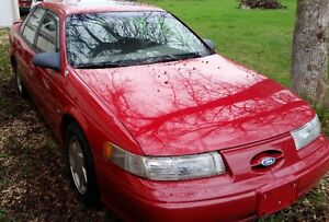 1995 Ford Taurus SHO 5-spd, 3.0L Yamaha, 5 speed -NOT running