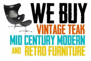 Retrospekt: We BUY teak / mid-century / vintage / retro