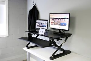 """Boost Industries STSDR35/46/27"""" Standing Desk Riser Sit-to-Stand"""