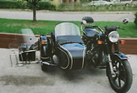 1976 BMW R-75 with Side-Car