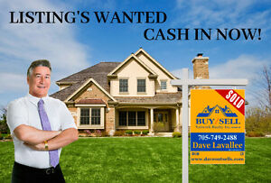 THINKING OF SELLING? LIST NOW!