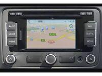 Genuine vw Volkswagen Golf rns sat nav Bluetooth rns 315 310 510 mk5 mk6 gti r32