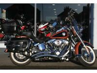 2007 Harley-Davidson FLSTC HERITAGE SOFTAIL at Teasdale Motorcycles, Yorkshire