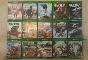 Xbox one game lot