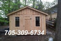 Storage Sheds and Outhouses
