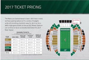 2 - 2017 Roughrider Season Tickets