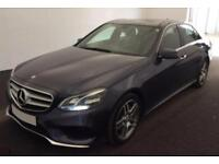 2014 BLUE MERCEDES E350 3.0 AMG LINE PREMIUM PLUS SALOON CAR FINANCE FROM 71 P/W