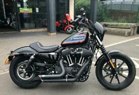 2020 Harley-Davidson SPORTSTER XL1200NS IRON 1200 XL1200NS Vivid Black (20MY) Cu