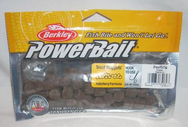 berkley powerbait nuggets fishing bait trout hatchery formula 2 oz, Fly Fishing Bait
