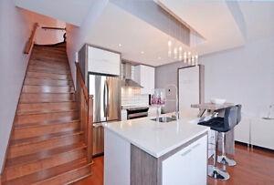 Stunning fully furnished 1 bdrm condo - DOWNTOWN
