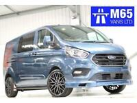 af95778d199cd3 19 FORD TRANSIT CUSTOM L2H1 DCIV 320 170PS LIMITED COMBI SPORT STYLING LWB  CREW
