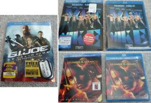 G. I. Joe Retaliation, Magic Mike, or Hunger Games on Blu-Ray