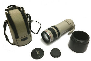 CANON EF 100-400 MM ZOOM LENS