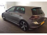 2015 GREY VW GOLF R 2.0 TSI 300 DSG 4X4 PETROL 5DR HATCH CAR FINANCE FR £54 PW
