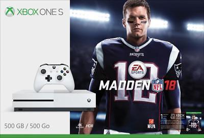 Microsoft - Xbox One S 500gb Madden Nfl 18 Bundle With 4k Ultra Hd Blu-Ray - ...