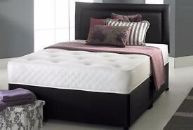"""""""""""1 YEAR WARRANTY---Single / Small Double / Double Memory Foam Orthopedic Bed and Mattress"""