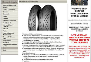 ALWAYS THE LOWEST PRICE ON MOTORCYCLE TIRES IN ONTARIO :) Kitchener / Waterloo Kitchener Area image 2