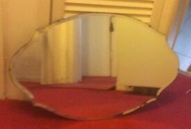 Beautiful original vintage wall mirror