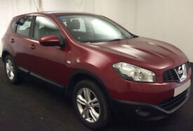 2010 NISSAN QASHQAI 1.5 DCI ACENTA GOOD / BAD CREDIT CAR FINANCE FROM 29 P/WK