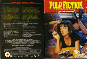 Pulp Fiction (1994) - John Travolta, Samuel L Jackson (2 DVDs)