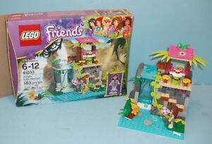LEGO FRIENDS no 41033, LE SAUVETAGE des CHUTES de la JUNGLE