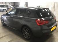 2016 GREY BMW M135i 3.0 T SPORT PETROL AUTO 5DR HATCHBACK CAR FINANCE FR 75 PW