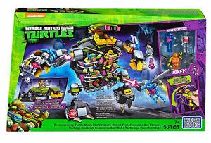 Mega Bloks Teenage Mutant Ninja Turtles Transforming Turtle Mech