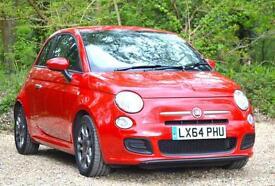 Fiat 500 1.2 ( 69bhp ) ( s/s ) 2014MY S