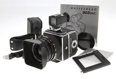 Hasselblad 903 SWC Medium Format Camera w/ 38mm f/4.5 CF Lens w/ Finder